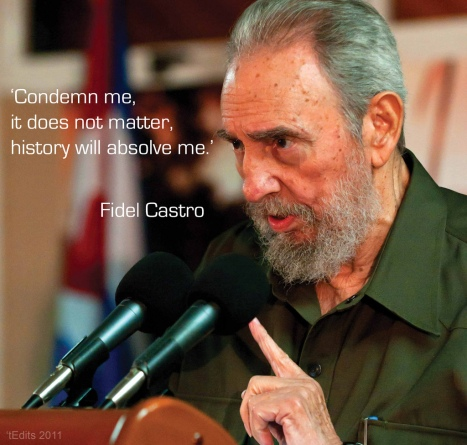 Foto: Fidel Castro, 'tEdits 2011, Toby Jagmohan,Flickr, http://www.flickr.com/photos/tedits/5888955648. Licencja: CC BY-ND 2.0, http://creativecommons.org/licenses/by-nd/2.0/.